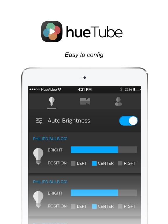 hueTube - Philips hue Ambilight for YouTube Screenshot