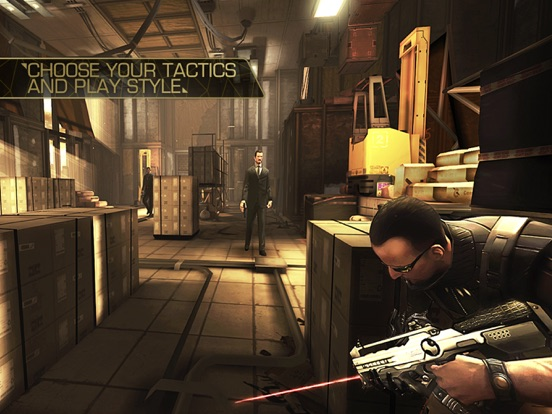 Screenshot #3 for Deus Ex: The Fall