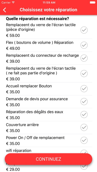 DoctorPhoneCapture d'écran de 3