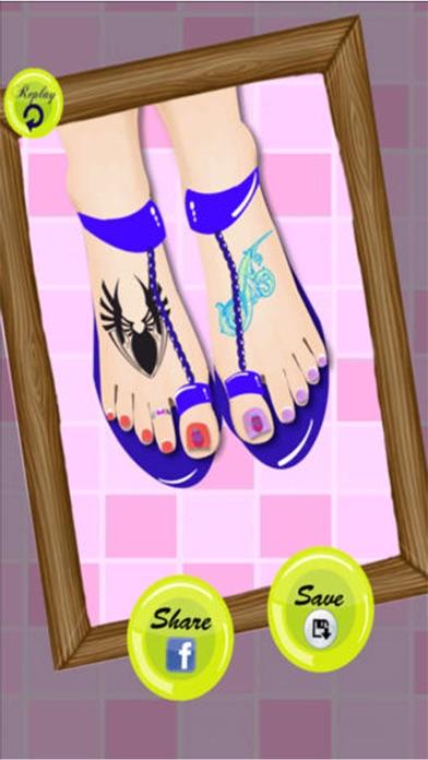 プリンセスつま先ドレスアップ - 女の子の子供ホットファッション無料化粧ゲーム - おとぎ話の彼女のシンデレラや白雪姫を作りますのスクリーンショット3