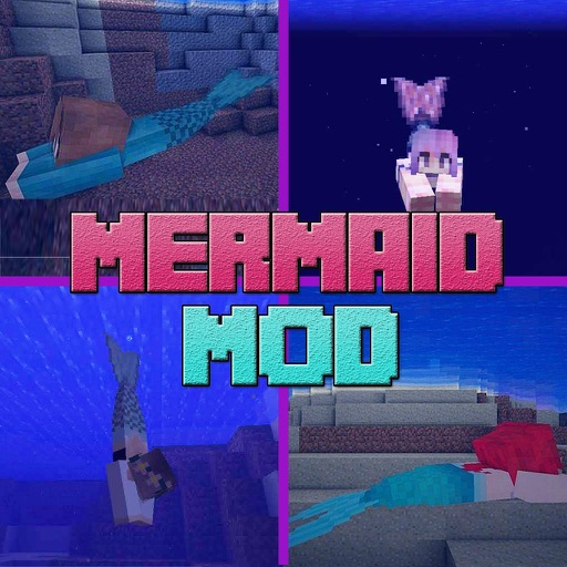 MERMAID MOD FREE Guide with Shark Tail for Minecraft PC Game Edition iOS App