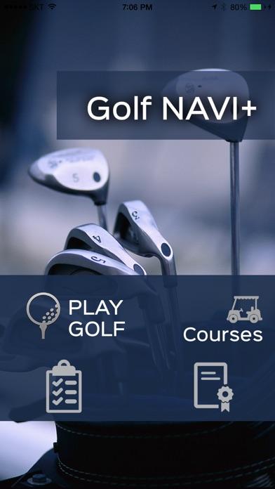 Golf NAVI Pro Screenshots