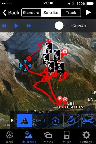 Ski Tracks screenshot 2