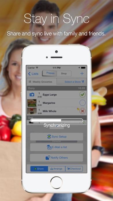 Grocery Gadget - Shopping List Screenshot 5