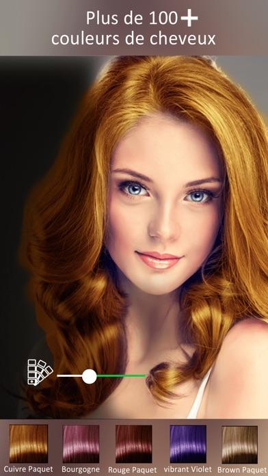 Changer couleur cheveux simulation