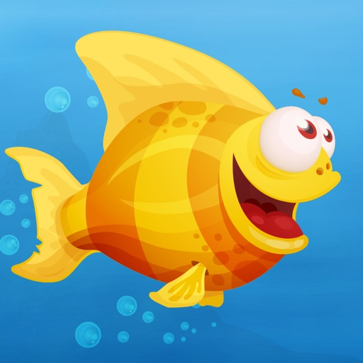 Yellow Fish - The Adventure of a Tiny Coral Reef Fish iOS App