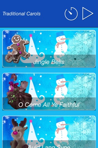 Traditional Christmas Carols for Kids: Xmas Songs for Children (Silent Night, Jingle Bells, and others) screenshot 3