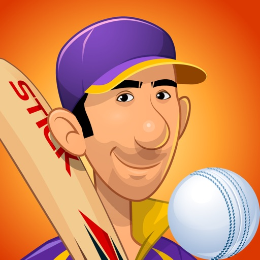 Stick Cricket Premier League HD iOS App