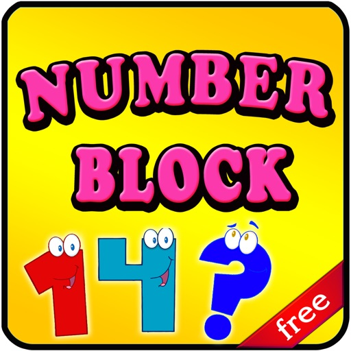 Numbers Block - Math Game for Kids Learning for Fun! Icon