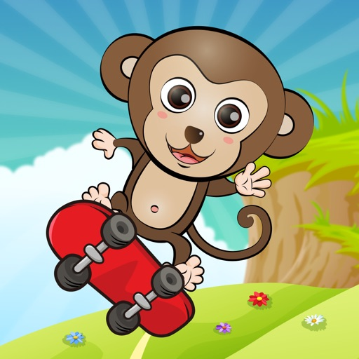 Abc jungle skateboard -  for preschoolers, babies, kids, learn English