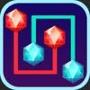 Diamond Link -  Connect The Jewel, Logic Path Puzzles Mania
