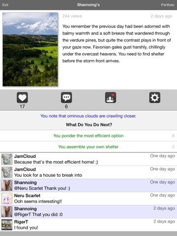 Collaborative writing app