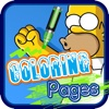 Coloring Books for Kids The Simpsons Version