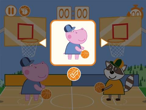 Детский баскетбол для iPad