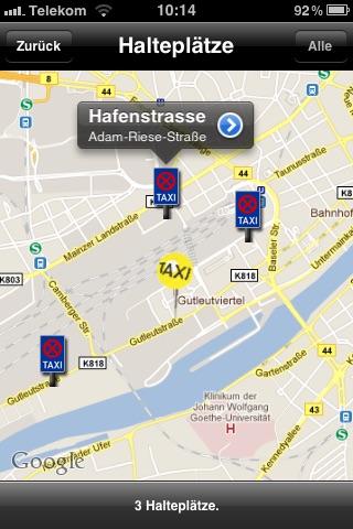 Taxi 33 Frankfurt screenshot 1