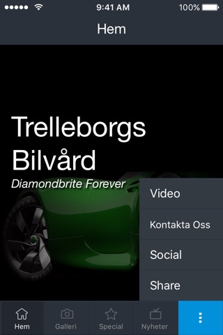 Trelleborgs Bilvård screenshot 2