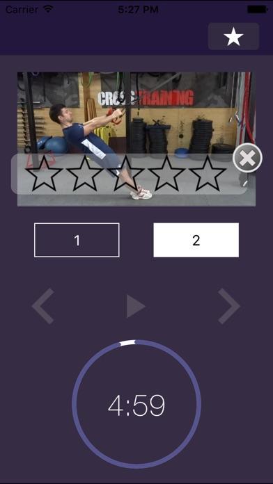 7 мин Trx тренировка:  Тренинг видео упражнение программа для упражнений и подвеска упражнения обучение тренировкиСкриншоты 3