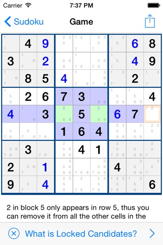 Sudoku 401 screenshot 4