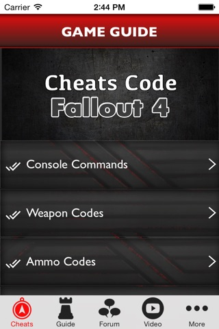 Cheats Code for Fallout 4 : Guide, Tips, Achievements, News