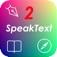 SpeakText 2 - Speak & Translate Web & Doc