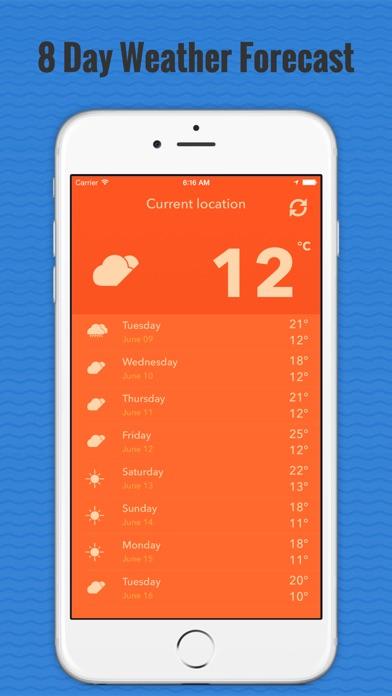 Местная погода-дождьСкриншоты 3