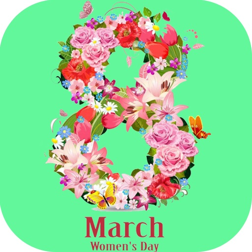 Free Ecards Greetings Maker - Happy Women's and Mother's day iOS App