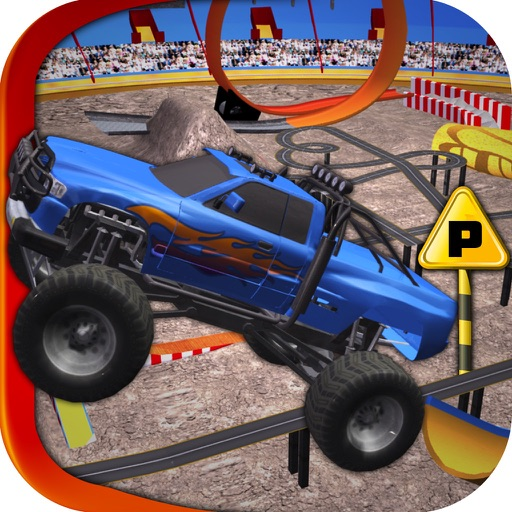 Extreme Monster Truck 3d Parking iOS App