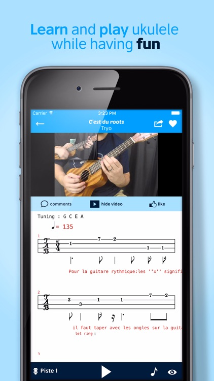 Ukulele Chords Tabs By Orphee Music