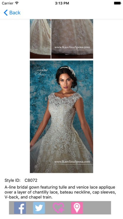 Karelina Sposa by Mary\'s Bridal - P.C. Mary\'s, Inc.