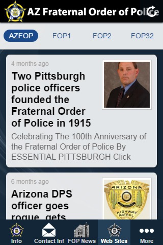 Arizona Fraternal Order of Police screenshot 2