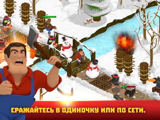 Battle Bros - Online co-op tower defense TD game Screenshot