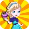 Princess Cupcake Frenzy - Cup Cake Maker&My Sweet Bakery