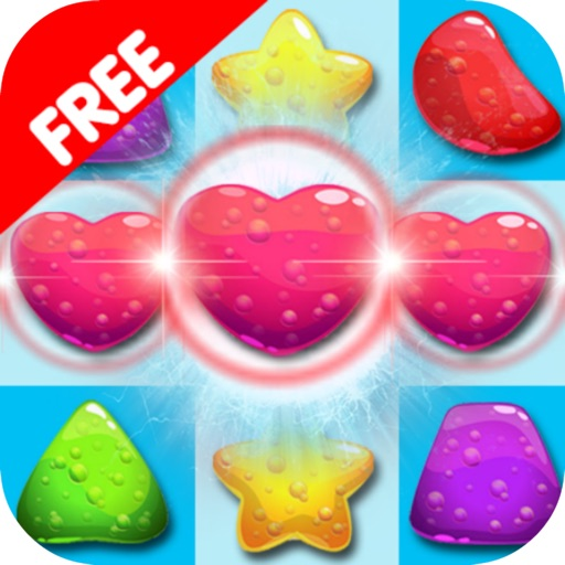 Fantasy Candy Line Connect HD iOS App