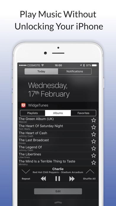 WidgeTunes Screenshot