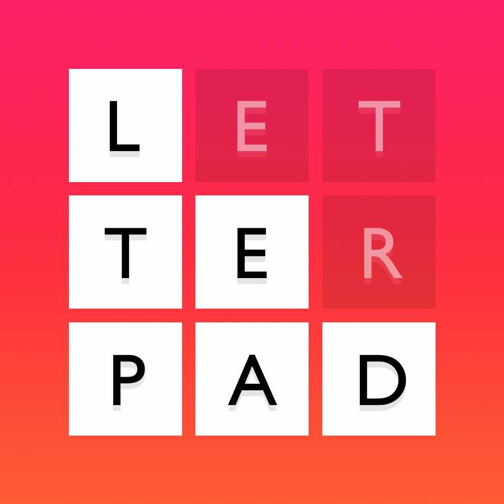 Letterpad - Free Word Puzzles