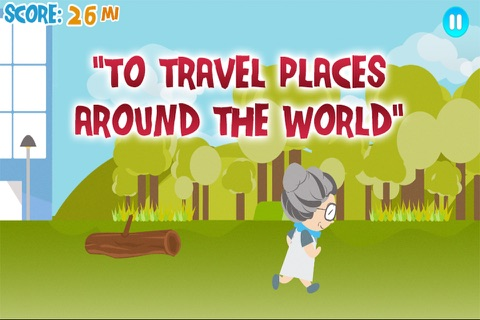 Granny Walks Around The World screenshot 3