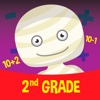 2nd Grade Mummy Math - educational games for kids
