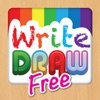 Write Draw Free for iPad - Learning Writing, Drawing, Fill Color & Words