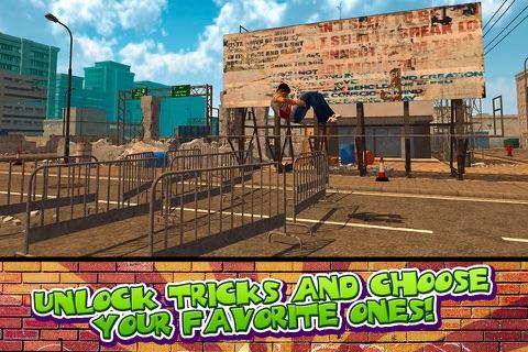 Crazy Stunt Parkour Simulator 3D Full screenshot 4