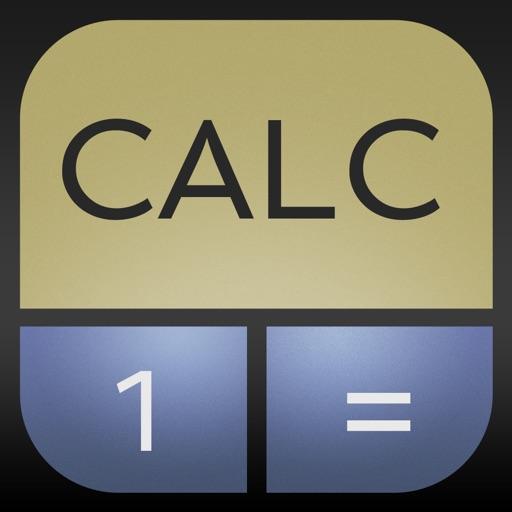 Ad-Free CALC 1 Financial Calculator iOS App