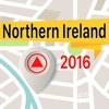 Northern Ireland Оффлайн Карта Навигатор и руководство