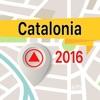 Catalonia 離線地圖導航和指南