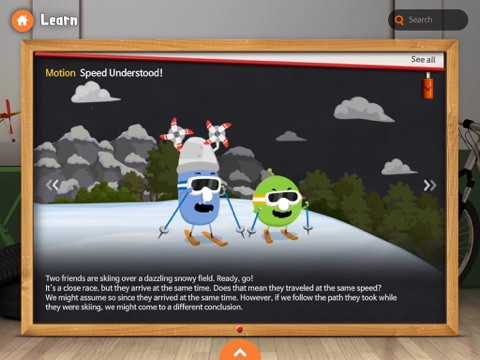 Meet Science: Force and Motion screenshot 1