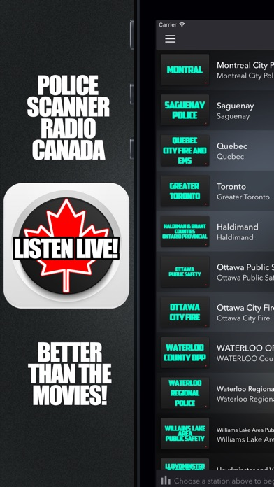 download Police Scanner Radio Canada apps 0
