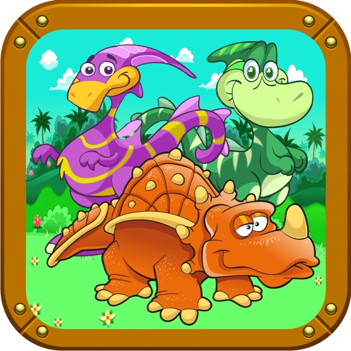 Ugly Dinosaurs Hidden Objects iOS App