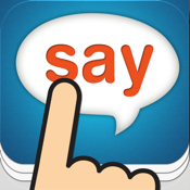 Tap & Say - Speak Phrase Book for travelling the world icon