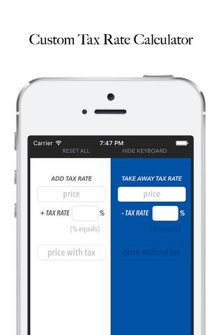 Whats the Sales Tax? USA LITE screenshot 1
