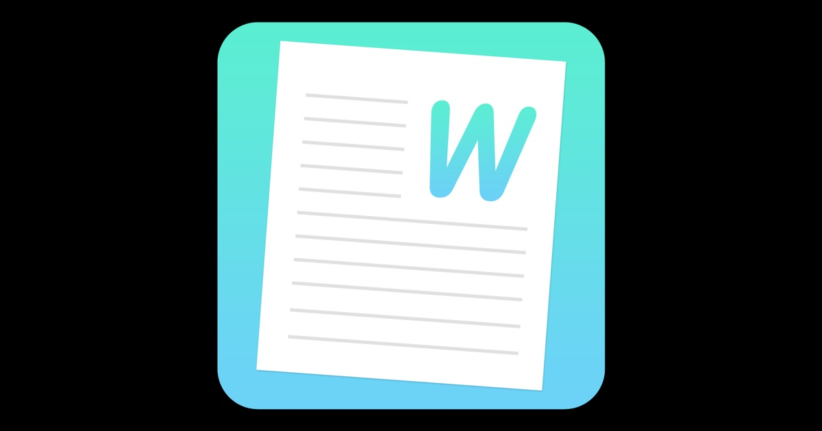 Word document writer document writer for microsoft word for Documents apple store