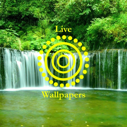 Waterfall live wallpapers animated wallpapers for home for Wallpaper home lock