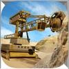 Diamond Mine excavator 3D : Construction Quarry Haul Truck Driver